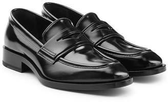 Jil Sander Patent Leather Loafers