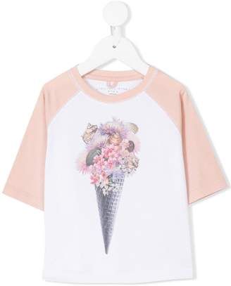 Stella McCartney Max ice cream print T-shirt
