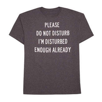 NOVELTY PROMOTIONAL Please Do Not Disturb Graphic Tee