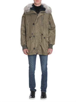 Yves Salomon Nylon Parka