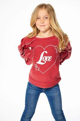 Chaser Love Ruffle Sleeve