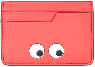 Anya Hindmarch Leather Mini Eyes Card Holder