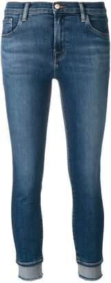J Brand double hem skinny jeans