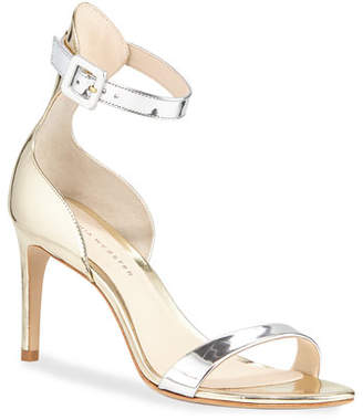 Sophia Webster Nicole Mixed Mid-Heel Sandals