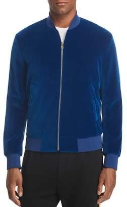 Paul Smith Casual Velvet Bomber Jacket