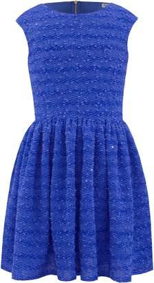 David Charles Sparkle Boucle Dress