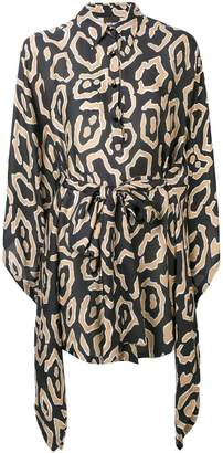 Just Cavalli fitted shirt dress
