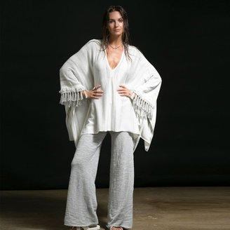 Minnie Rose - Blanket Stripe Caftan $183 thestylecure.com