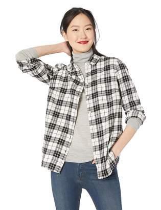J.Crew Mercantile Women's Long-Sleeve Flannel Shirt, XXL