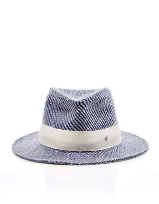 Maison Michel Andre Cotton-Blend Fedora Hat