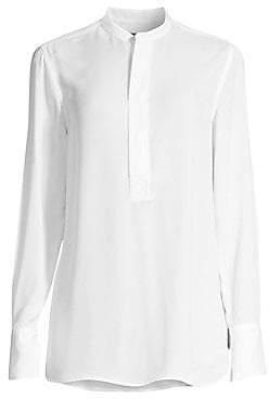 Polo Ralph Lauren Women's Boyfriend Fit Silk Blouse