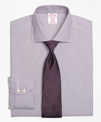 Brooks Brothers Madison Classic-Fit Dress Shirt, Non-Iron Mini-Stripe