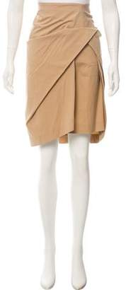 Gunex Draped Knee-Length Skirt
