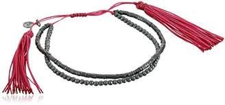 Tai Double Stranded Bead Tassel Bracelet