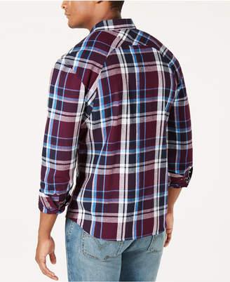 Levi's Men Flannel Twill Plaid Shirt