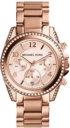 Michael Kors MK5943 Blair Rose Tone Chronograph Ladies Watch
