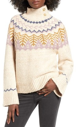 Women's Bp. Fair Isle Knit Pullover $69 thestylecure.com