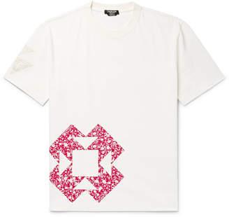 Calvin Klein Patchwork Appliquéd Cotton-Jersey T-Shirt