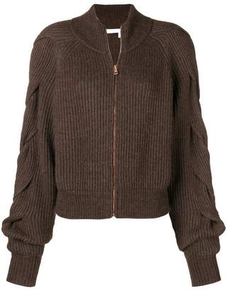 See by Chloe chunky ribbed cardigan