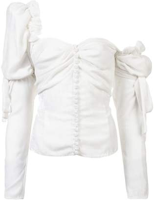 Magda Butrym asymmetric blouse
