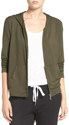 The Laundry Room Cozy Front Zip Lounge Hoodie $108 thestylecure.com