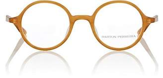 Barton Perreira Men's Burns Eyeglasses - Mustard