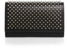 Christian Louboutin Paloma Convertible Spiked Leather Clutch