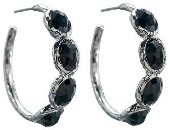 Ippolita Four-Stone Hoop Earrings, Small