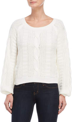 Almost Famous Ivory Pullover Sweater