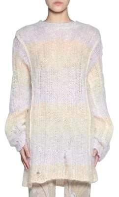 Acne Studios Oversized Stripe Mohair Sweater