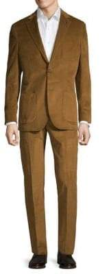 Textured Corduroy Suit