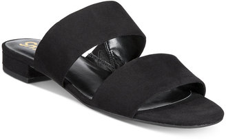 Circus by Sam Edelman Delaney Two-Piece Slip-On Sandals Women's Shoes $39 thestylecure.com