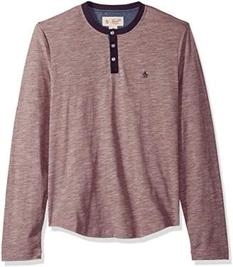 Original Penguin Men's Slub Henley