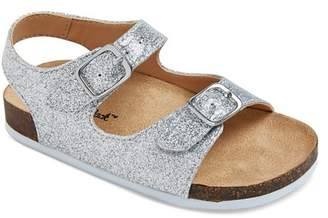Cat & Jack Toddler Girls' Tisha Two Piece Footbed Sandals $16.99 thestylecure.com