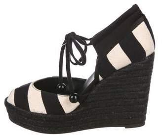 Sonia Rykiel Canvas Wedges Sandals
