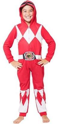 Power Rangers Boys 'Red Ranger' One Piece Union Pajama (Little Boys & Big Boys)