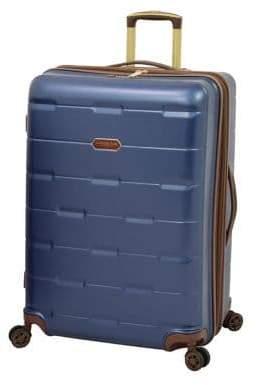 London Fog Newbury 28-Inch Hardside Expandable Spinner Suitcase
