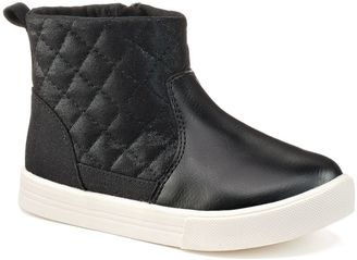 OshKosh B'gosh® Toddler Girls' Quilted Boots $44.99 thestylecure.com