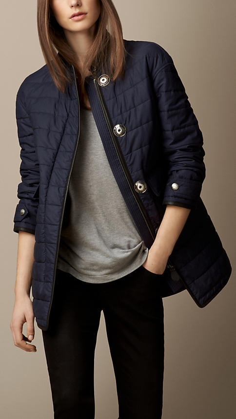 Burberry Quilted Cocoon Coat