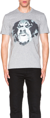 Givenchy Cuban Fit Rottweiler Tee $685 thestylecure.com