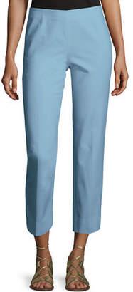 Lafayette 148 New York Cropped Bleecker Fundamental Bi-Stretch Pant