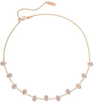 Messika - My Soul 18-karat Rose Gold Diamond Choker