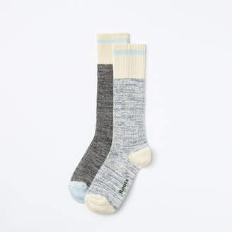 Roots Cotton Cabin Sock 2 Pack