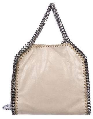 Stella McCartney Shaggy Deer Mini Falabella Foldover Tote