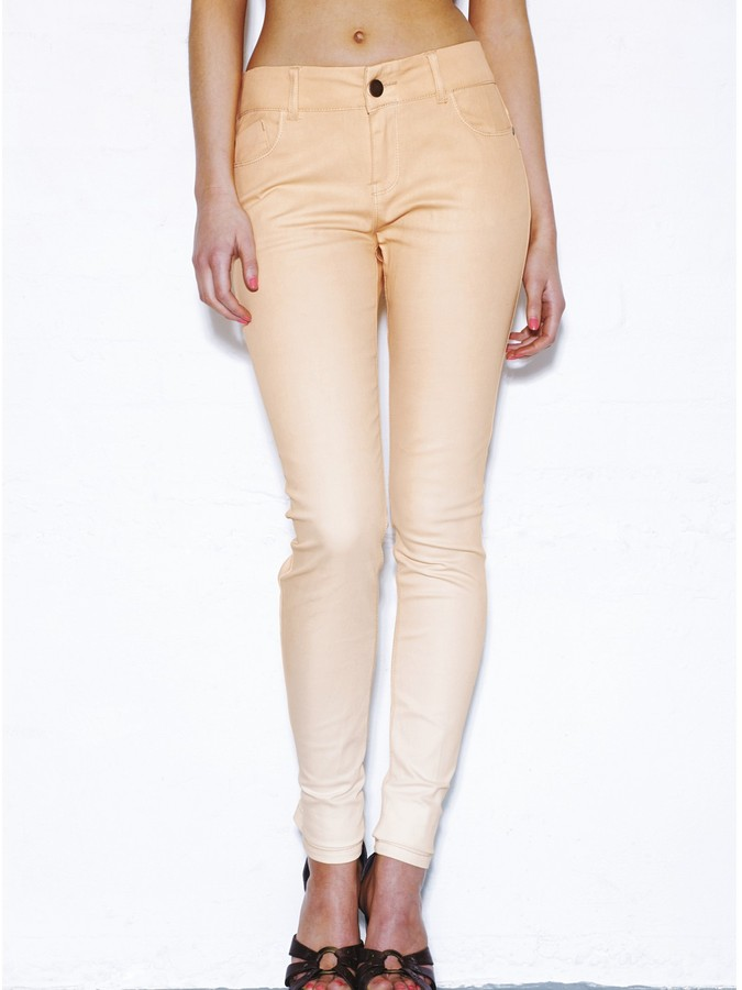 Love Label Skinny Jeans With Ombre Wash