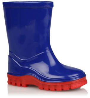 George Blue Wellington Boots