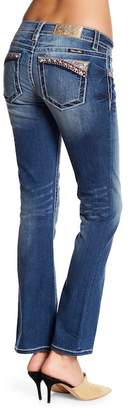 Miss Me Boot Cut Colorful Topstitch Jeans