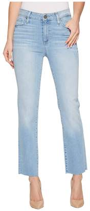 Paige Hoxton Straight Ankle 27 Raw Hem in Lumina Women's Jeans