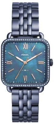 Fossil Micah Square Bracelet Watch, 32mm x 32mm