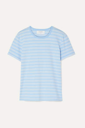 La Ligne Classique Striped Stretch Cotton-jersey T-shirt